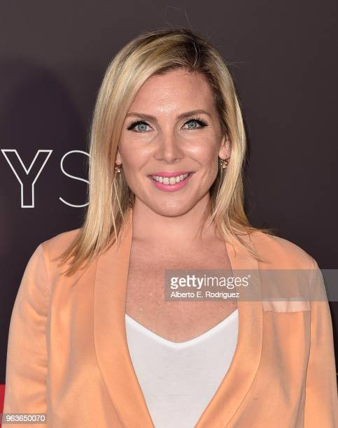 Actress June Diane Raphael attends Comediennes In Conversation at Netflix FYSEE at Raleigh Studios on May 29 2018 in Los Angeles California