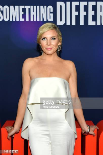 Actress June Diane Raphael attends the Long Shot New York Premiere at AMC Lincoln Square Theater on April 30 2019 in New York City