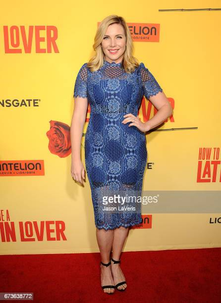 Actress June Diane Raphael attends the premiere of 'How to Be a Latin Lover' at ArcLight Cinemas Cinerama Dome on April 26 2017 in Hollywood...