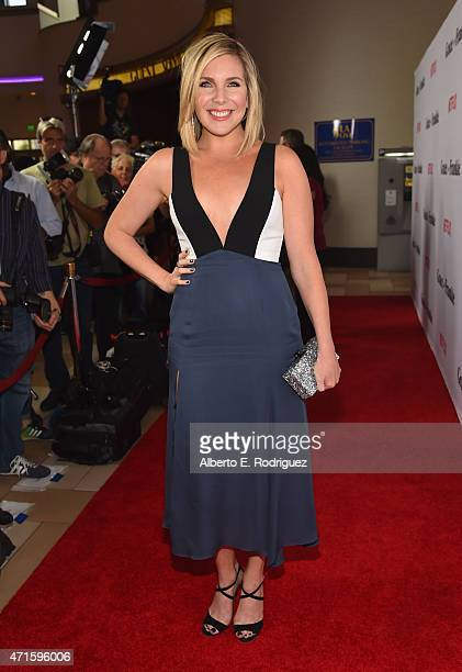 Actress June Diane Raphael attends the premiere of Netflix's Grace and Frankie at Regal Cinemas LA Live on April 29 2015 in Los Angeles California