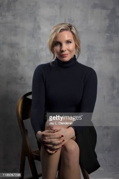 Actress June Diane Raphael from 'Grace and Frankie' is photographed for Los Angeles Times on March 16 2019 during PaleyFest at the Dolby Theatre in...