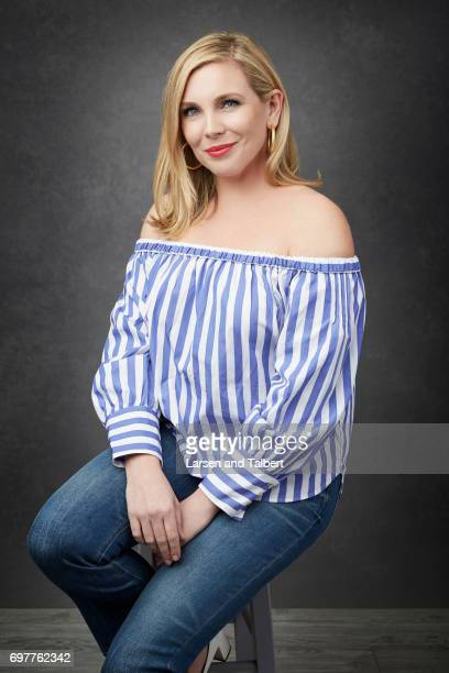 Actress June Diane Raphael is photographed for Entertainment Weekly Magazine on June 11 2017 in Austin Texas