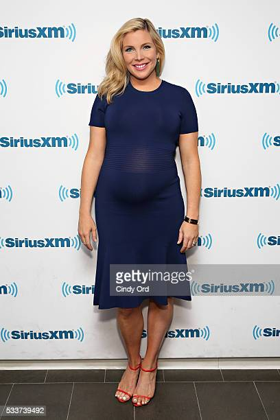 Actress June Diane Raphael visits the SiriusXM Studio on May 23 2016 in New York City