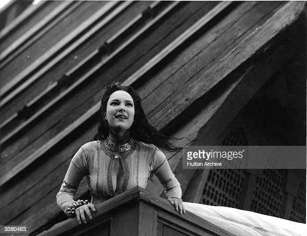Actress June Duprez as the Princess in the film 'The Thief of Bagdad' directed by Ludwig Berger Michael Powell and Tim Whelan and produced by London...