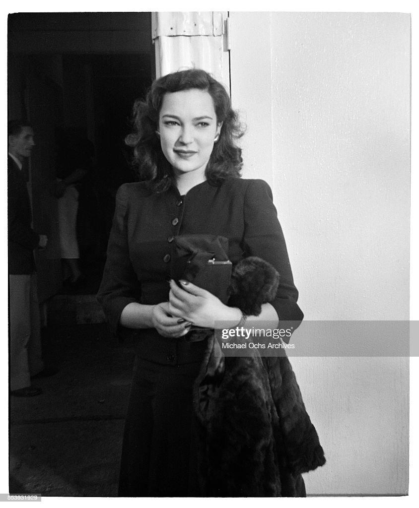 June Duprez : News Photo