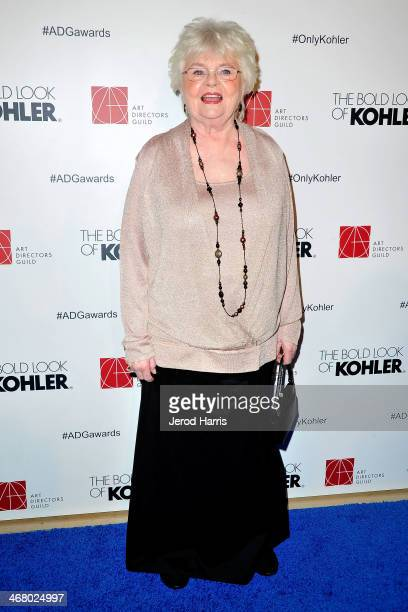 Actress June Squibb arrives at the 18th Annual Art Directors Guild Excellence in Production Design Awards at The Beverly Hilton Hotel on February 8...