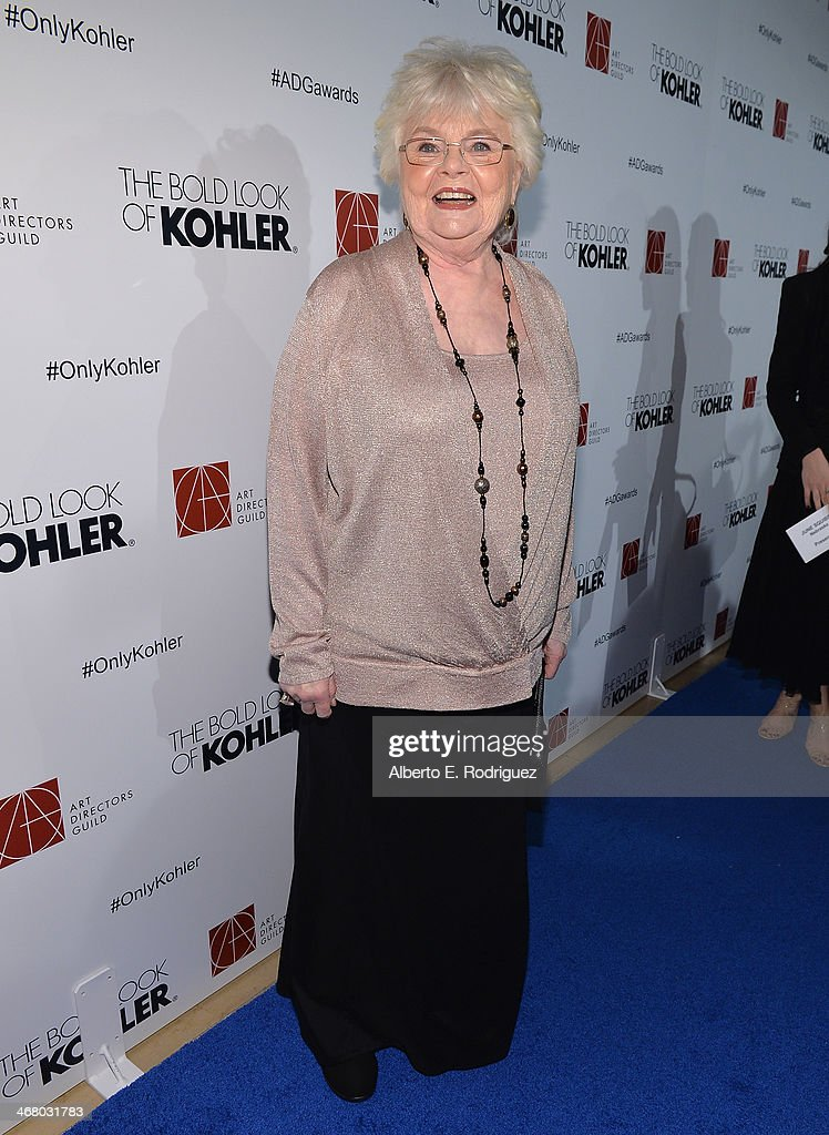 Actress June Squibb arrives to the 18th Annual Art Directors Guild Exellence In Production Design Awards at The Beverly Hilton Hotel on February 8, 2014 in Beverly Hills, California.