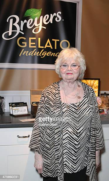 Actress June Squibb attends Breyers Gelato Indulgences in the On3 Official Presenter Gift Lounge during the 2014 Film Independent Spirit Awards at...