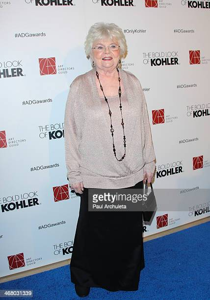 Actress June Squibb attends the 18th Annual Art Directors Guild Excellence In Production Design Awards at The Beverly Hilton Hotel on February 8 2014...