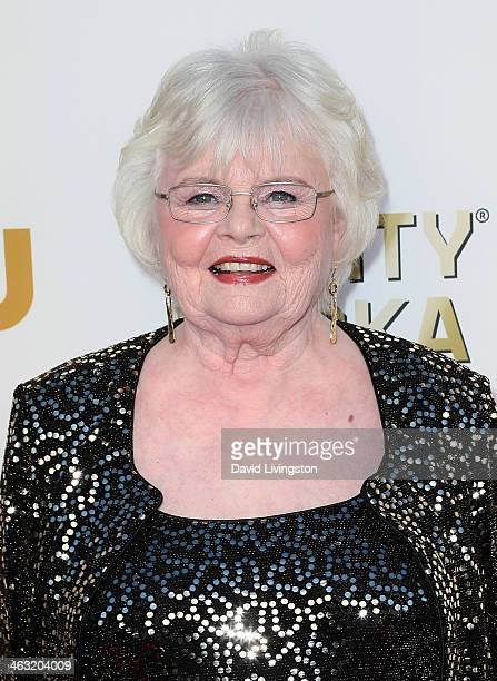 Actress June Squibb attends the 19th Annual Critics' Choice Movie Awards at Barker Hangar on January 16 2014 in Santa Monica California