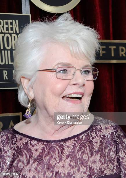 Actress June Squibb attends the 20th Annual Screen Actors Guild Awards at The Shrine Auditorium on January 18 2014 in Los Angeles California