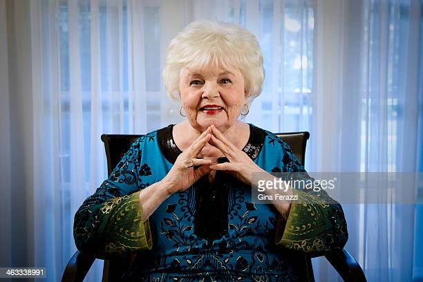 Actress June Squibb is photographed for Los Angeles Times on November 3 2013 in Los Angeles California CREDIT MUST READ Gina Ferazzi/Los Angeles...