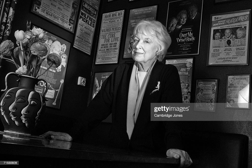 Cambridge Jones Portraits - June Whitfield : News Photo