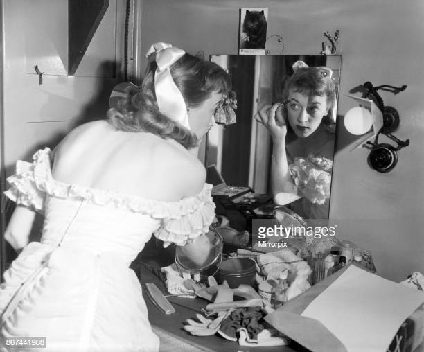 Actress June Whitfield takes over the lead after being understudy in 'Love From Judy' 4th December 1953