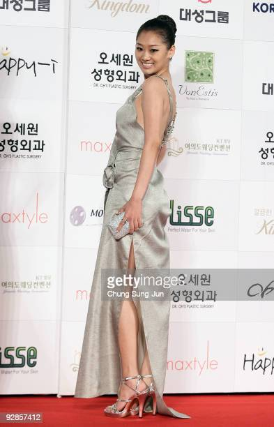Actress Juni arrives at the 46th Daejong Film Awards at Olympic Hall on November 6 2009 in Seoul South Korea