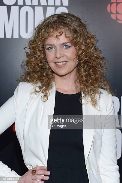 Actress Juno Rinaldi attends the CBC world premiere VIP screening of Workin' Moms at TIFF Bell Lightbox on January 9 2017 in Toronto Canada