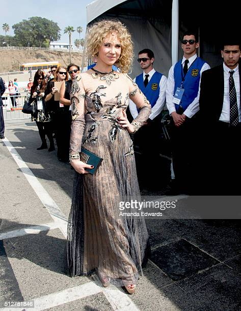 Actress Juno Temple attends the 2016 Film Independent Spirit Awards on February 27 2016 in Santa Monica California