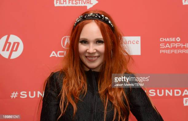 Actress Juno Temple attends the 'Afternoon Delight' premiere at Eccles Center Theatre during the 2013 Sundance Film Festival on January 21 2013 in...