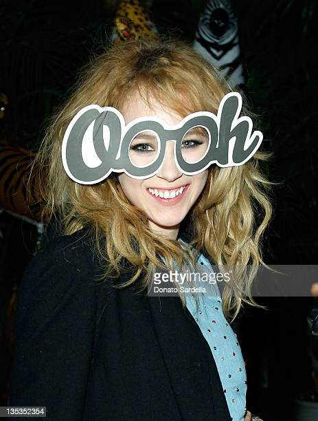 Actress Juno Temple attends the Mulberry SS12 Dinner at Chateau Marmont on December 8 2011 in Los Angeles California