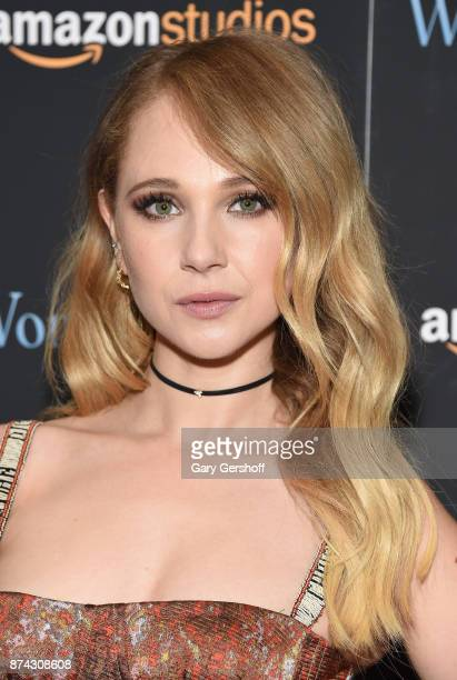 Actress Juno Temple attends the 'Wonder Wheel' New York screening at the Museum of Modern Art on November 14 2017 in New York City