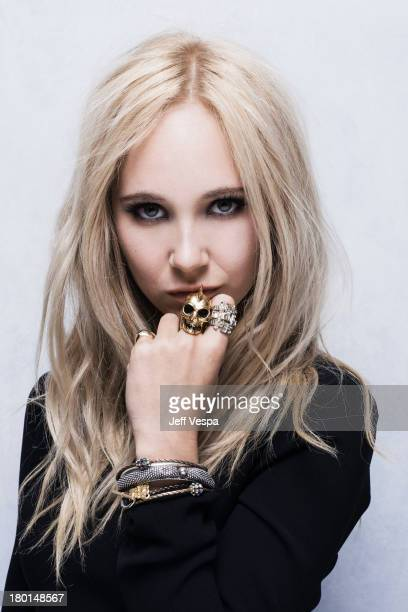 Actress Juno Temple is photographed at the Toronto Film Festival on September 6 2013 in Toronto Ontario