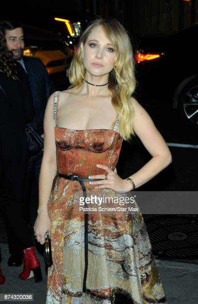 Actress Juno Temple is seen on November 14 2017 in New York City