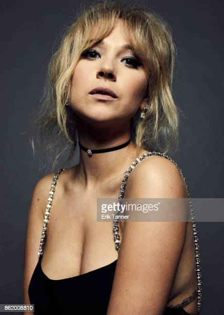 Actress Juno Temple of 'Wonder Wheel' poses for a portrait at the 55th New York Film Festival on October 14 2017