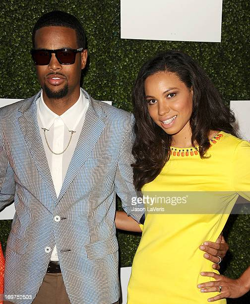 Actress Jurnee Smollett and husband Josiah Bell attend Step Up Women's Network 10th annual Inspiration Awards at The Beverly Hilton Hotel on May 31...