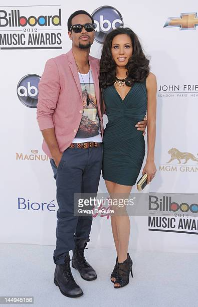 Actress Jurnee Smollett and husband musician Josiah Bell arrive at the 2012 Billboard Music Awards at MGM Grand on May 20 2012 in Las Vegas Nevada