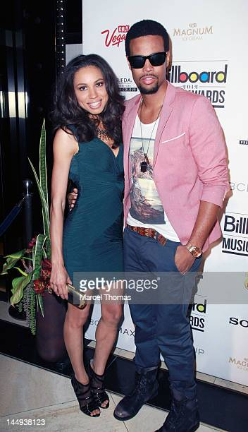 Actress Jurnee Smollett and husband singer Josiah Bell attend the 2012 Billboard Music Awards Oficial Afterparty at 1 Oak on May 20 2012 in Las Vegas...