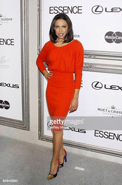 Actress Jurnee Smollett arrives at the 2nd Annual ESSENCE Black Women In Hollywood Luncheon at The Beverly Hills Hotel on February 19, 2009 in...