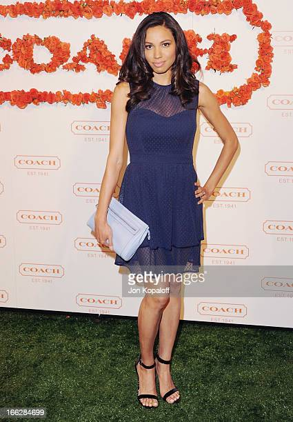 Actress Jurnee Smollett arrives at the 3rd Annual Coach Evening To Benefit Children's Defense Fund at Bad Robot on April 10 2013 in Santa Monica...