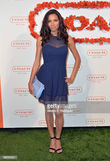 Actress Jurnee Smollett attends the 3rd Annual Coach Evening to benefit Children's Defense Fund at Bad Robot on April 10 2013 in Santa Monica...