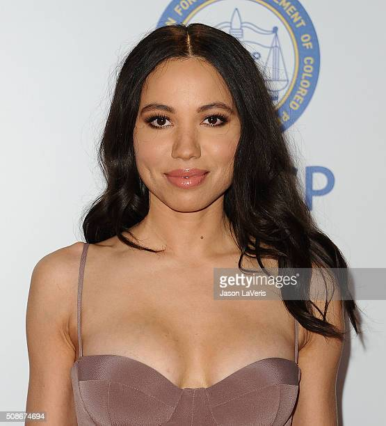 Actress Jurnee Smollett Bell attends the 47th NAACP Image Awards at Pasadena Civic Auditorium on February 5 2016 in Pasadena California