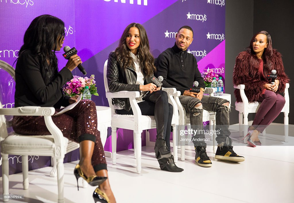 Jurnee Smollet-Bell, Monica And Terrence J Celebrates Black History Month At Macy's Herald Square : News Photo