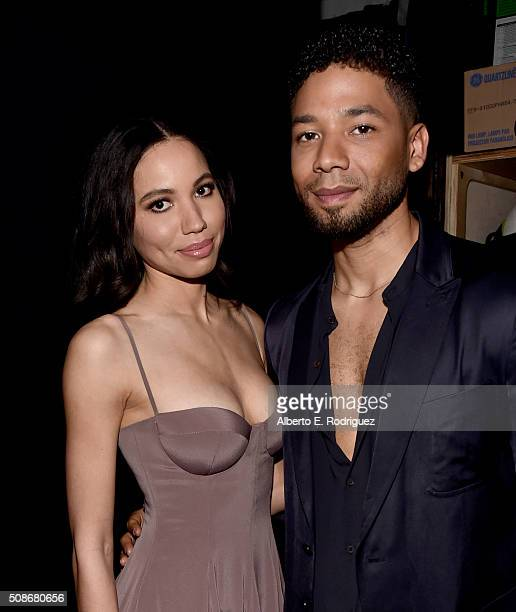 Actress Jurnee SmollettBell and actor Jussie Smollett attend the 47th NAACP Image Awards presented by TV One at Pasadena Civic Auditorium on February...