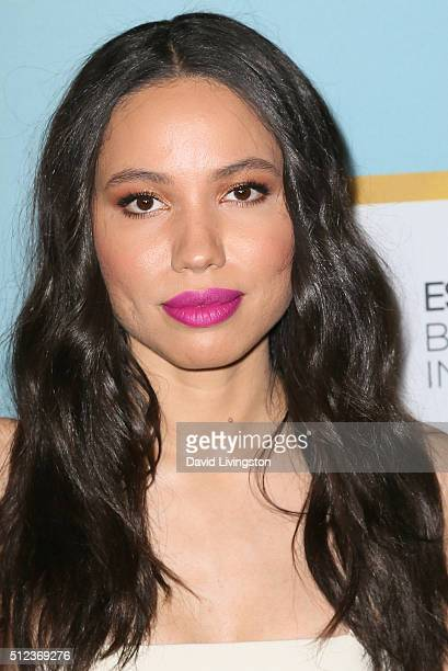 Actress Jurnee SmollettBell arrives at the Essence 9th Annual Black Women event in Hollywood at the Beverly Wilshire Four Seasons Hotel on February...