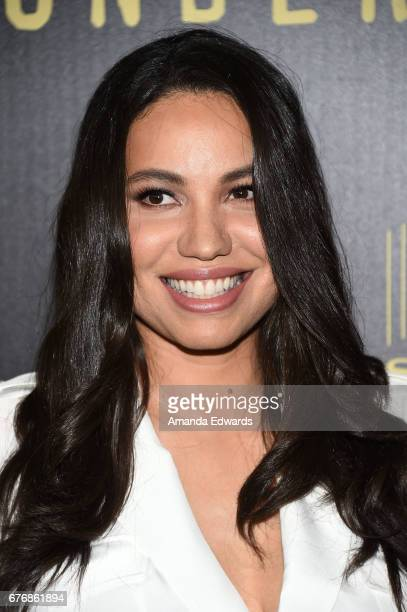 Actress Jurnee SmollettBell arrives at the For Your Consideration Event for WGN America's 'Underground' at The Landmark on May 2 2017 in Los Angeles...