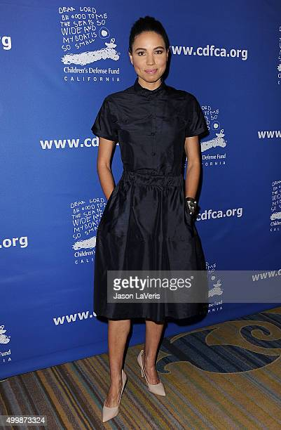 Actress Jurnee SmollettBell attends the 25th annual Children's Defense Fund Beat The Odds Awards at the Beverly Wilshire Four Seasons Hotel on...
