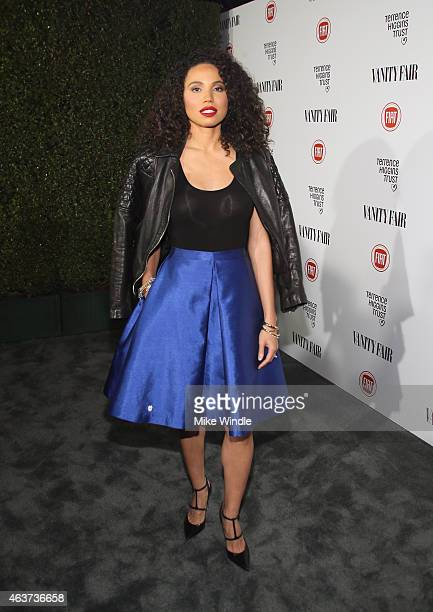 Actress Jurnee SmollettBell attends Vanity Fair and FIAT celebration of Young Hollywood hosted by Krista Smith and James Corden to benefit the...