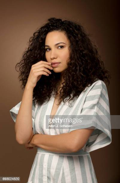 Actress Jurnee SmollettBell is photographed for Los Angeles Times on May 24 2017 in Los Angeles California PUBLISHED IMAGE CREDIT MUST READ Allen J...
