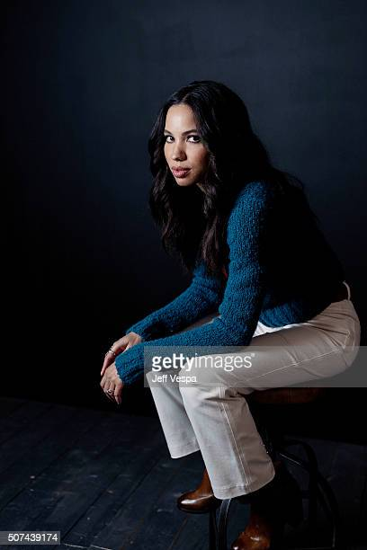 Actress Jurnee SmollettBell of 'Underground' poses for a portrait at the 2016 Sundance Film Festival on January 23 2016 in Park City Utah