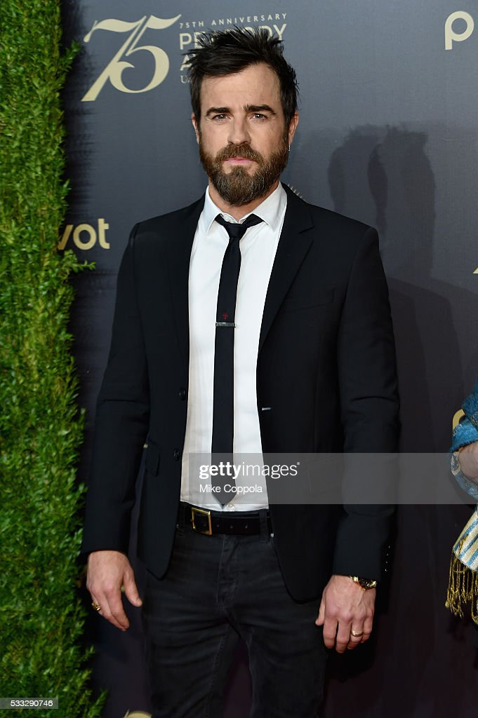 Actress Justin Theroux attends The 75th Annual Peabody Awards Ceremony at Cipriani Wall Street on May 20, 2016 in New York City.