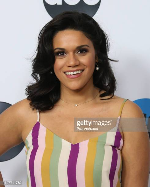 Actress Justina Adorno attends the Disney and ABC Television 2019 TCA Winter press tour at The Langham Huntington Hotel and Spa on February 05 2019...