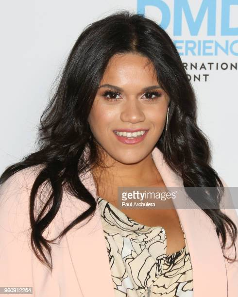 Actress Justina Adorno attends the Disney/ABC International Upfronts at the Walt Disney Studio Lot on May 20 2018 in Burbank California