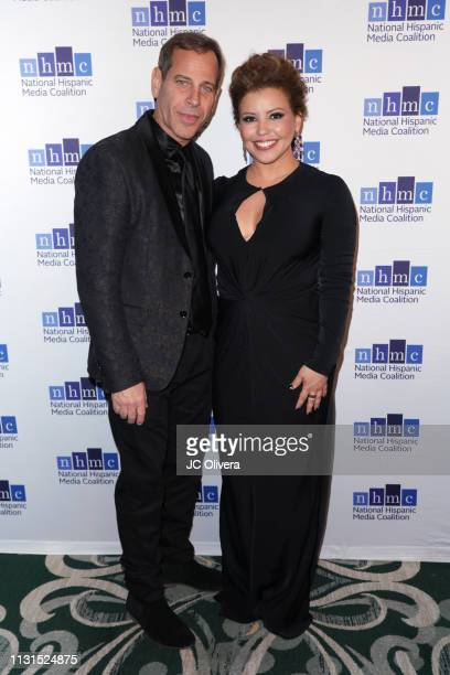 Actress Justina Machado attends the 22nd Annual National Hispanic Media Coalition Impact Awards Gala at Regent Beverly Wilshire Hotel on February 22...
