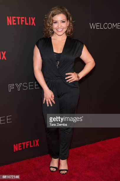 Actress Justina Machado attends The Women Of Netflix's 'One Day At A Time' For Your Consideration event at Netflix FYSee Space on May 9 2017 in...