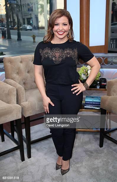 Actress Justina Machado visits Hollywood Today Live at W Hollywood on January 6 2017 in Hollywood California
