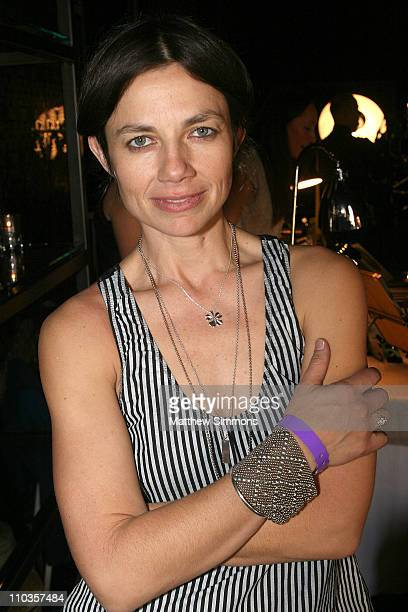 Actress Justine Bateman attends the Kari Feinstein Winter Style Lounge at Social Hollywood on January 11 2008 in Hollywood Califonia