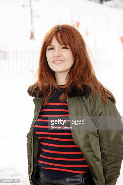 Actress Justine Le Pottier attends the 25th Gerardmer Fantastic Film Festival on February 1, 2018 in Gerardmer, France.